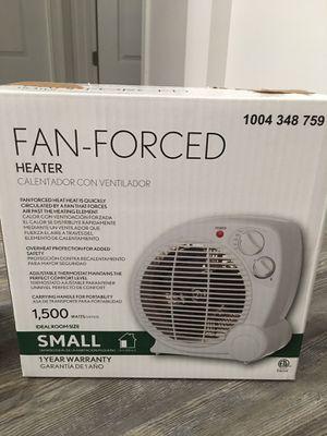 Two 1500-Watt Electric Fan Forced Portable Heaters for Sale in Harrisonburg, VA