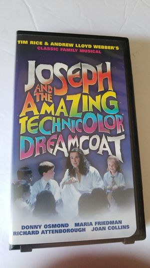 Joseph and the amazing Technicolor dreamcoat vhs movie for Sale in Cooper City, FL