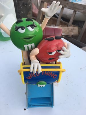 """M&M Vintage Candy Dispenser Collectible Wild Thing Roller Coaster 11"""" Tall for Sale in Eugene, OR"""