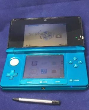 Nintendo 3DS AQUA BLUE with charger for Sale in Wyncote, PA