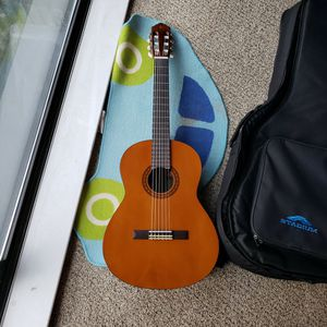 Never Used All Ready Tuned Guitar With Free Case for Sale in Reston, VA