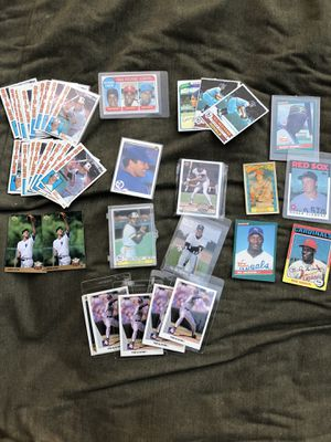 Baseball cards - most cards are Hall of Famers for Sale in Azusa, CA