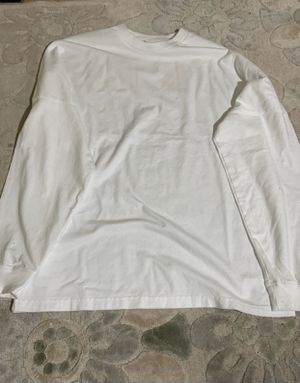 Supreme long sleeve white tee for Sale in Morristown, NJ