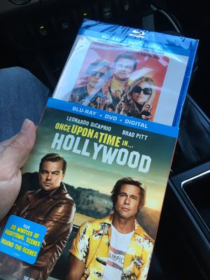 Once upon a time in Hollywood dvd blue ray for Sale in Fort Worth, TX