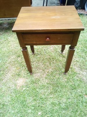 Antique Bedside Table for Sale in Marietta, GA