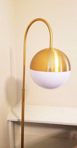 Floor lamp gold for Sale in Torrance, CA