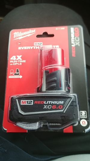 Milwaukee M12 redlithium XC6.0 for Sale in Wrightstown, NJ