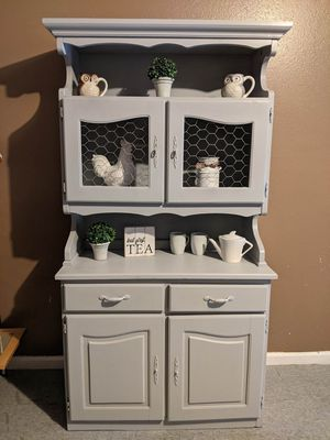 Farmhouse style hutch for Sale in Sanger, CA