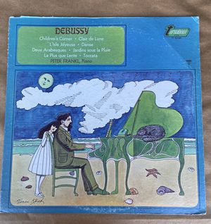 Peter Frankl (Piano) - Debussy vinyl LP Turnabout 1969 for Sale in Oakland, CA