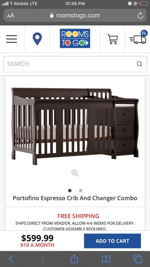 Crib and changer combo for Sale in Davie, FL