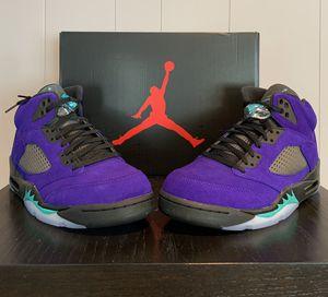 "Air Jordan 5 Retro ""Alternate Grape"" - Size 11.5 or 13 for Sale in Houston, TX"