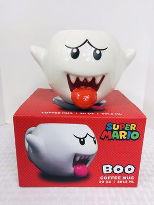 Brand new Super Mario BOO coffee mug for Sale in Pawtucket, RI