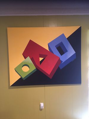 Bustamante 5ft x 4ft Abstract Art for Sale in Abilene, TX
