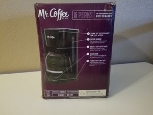 Mr. Coffee 12-Cup Programmable Coffee Maker, Black for Sale in Las Vegas, NV