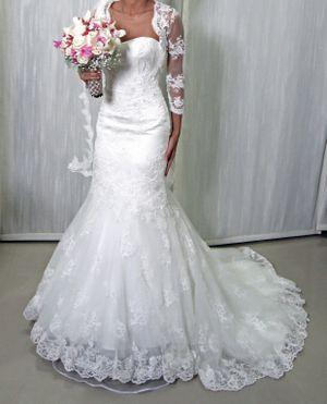wedding dress gown size 2-4 for Sale in Pembroke Pines, FL