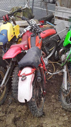 Rm125 XR Honda parts bike all for sale for Sale in Philadelphia, PA
