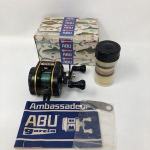 Abu Garcia Ambassadeur ULTRA MAPLUS Baitcast Fishing Reel W/Box. for Sale in New Orleans, LA