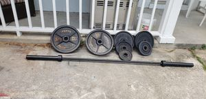 Olympic weight set for Sale in Clermont, FL