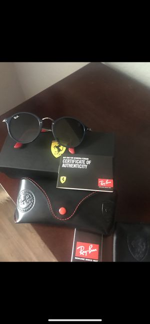 Ray- ban Ferrari limited edition sunglasses authentic for Sale in Tallahassee, FL