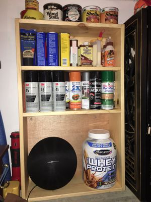 Handmade wall shelving unit (3ft tall x 2ft wide x 6in deep) for Sale in Hanover Park, IL