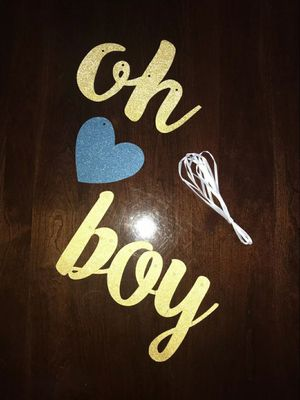 Gender reveal banner for Boy for Sale in Raytown, MO