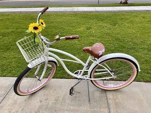 SixThreeZero White/Pink Beach Cruiser Bike for Sale in Marina del Rey, CA
