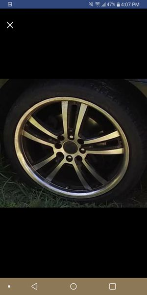 4 lugs universal 17s sale or trade for 5x114 rims for Sale in Tampa, FL