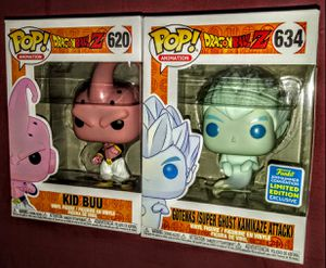 "Dragon Ball Z ""Kid Buu Vs. Gotenks (Super Ghost Kamikaze Attack)"" San Diego Comic Con Box Lunch Exclusive Funko Pop Match-Up for Sale in Los Angeles, CA"