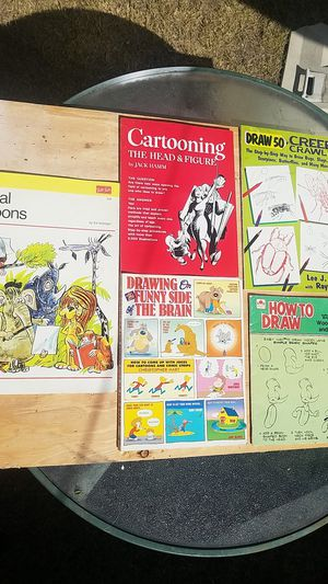 A lot of cartoon drawing books for Sale in Stockton, CA