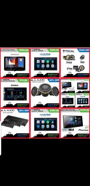 Car audio system for Sale in San Diego, CA