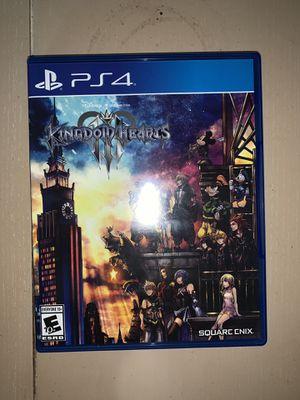 Kingdom Hearts 3 (PS4) for Sale in Tampa, FL