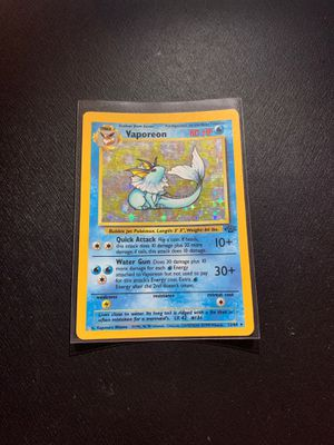 Pokemon Card Jungle Vaporeon for Sale in Pasadena, MD