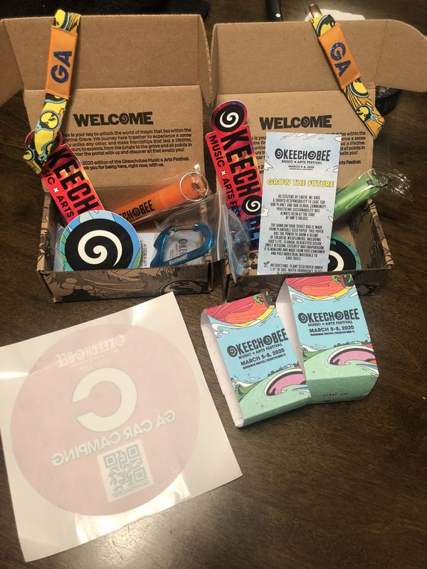 OKEECHOBEE Music Festival - Two General Admission Bands + Parking Pass