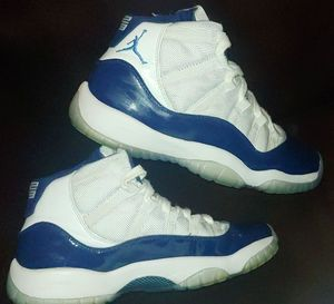 Kids Nike Air Jordan 11 Retro XI Win Like 82 UNC Midnight Navy Sz 6 378037-123 for Sale in Savage, MN