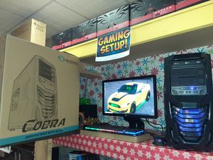 Cobra Gaming Computer +Full hd 1080p MONITOR + for Sale in Kennedale, TX