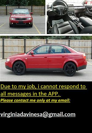CLEAN TITLE2OO3 Audi A4 1.8T FULLY LOADED for Sale in Dallas, TX