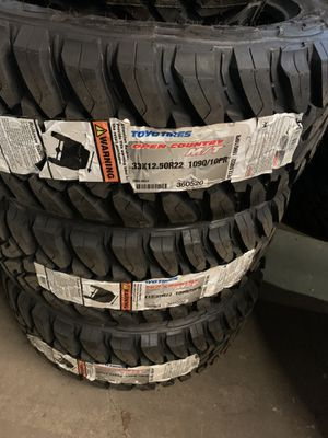 33/12.5/22 toyo for Sale in Houston, TX