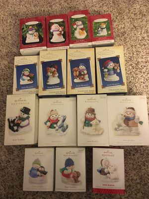 Hallmark Keepsake Snow Buddies Ornaments for Sale in Minneapolis, MN