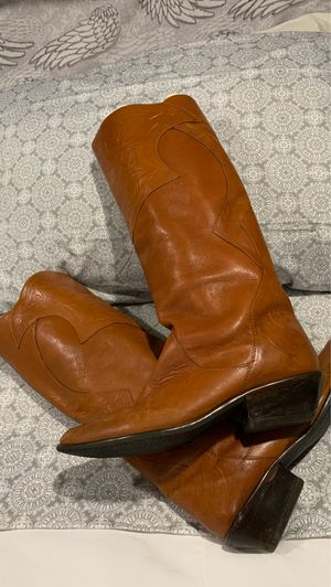 Leather boots for Sale in Kingsville, TX