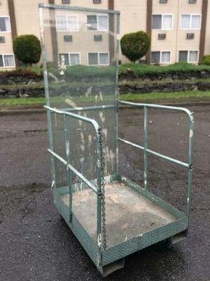 Forklift Platform Man Lift Safety Cage for Sale in Auburn, WA