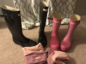 Hunter rain boots for Sale in Annandale, VA