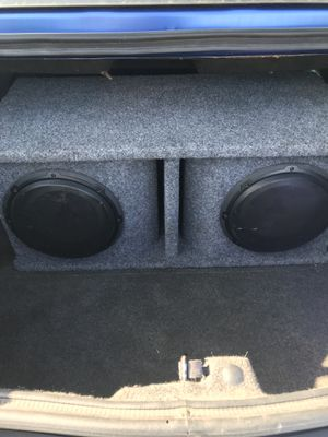 10in JL audio subs for Sale in Monroe, GA