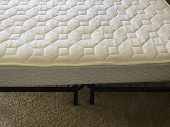 Queen Size Bed With Metal Frame for Sale in Columbus,  OH