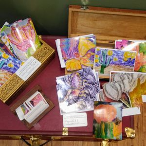 Original pastel paintings and refrigerator magnets for Sale in Cottonwood, AZ
