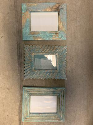 Unique wooden photo frames set for Sale in Washington, DC