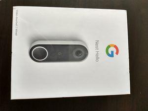 Google Nest Hello-Video Doorbell Camera for Sale in Los Angeles, CA