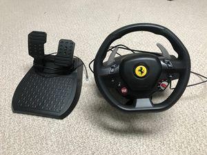 Thrustmaster T80 Ferrari 488 GTB Edition Racing Wheel for Sale in Upper Marlboro, MD