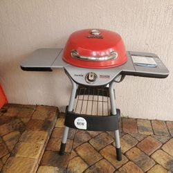 Char-broil Red Electric Bistro Patio Grill for Sale in Fort Lauderdale,  FL