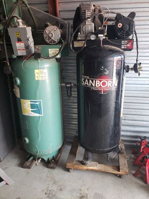 Two air compressors for Sale in Orland Park, IL