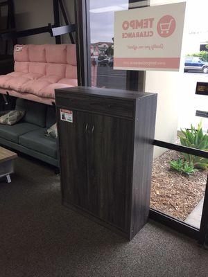 Shoe Cabinet, Distressed Grey, SKU #161569 **ASSEMBLED** for Sale in Santa Fe Springs, CA